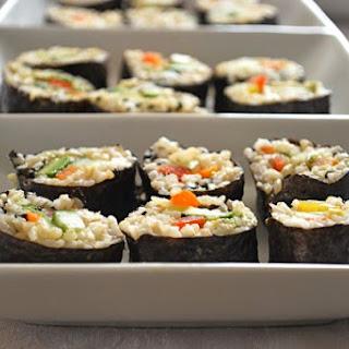Lemon Roll Sushi Recipes.