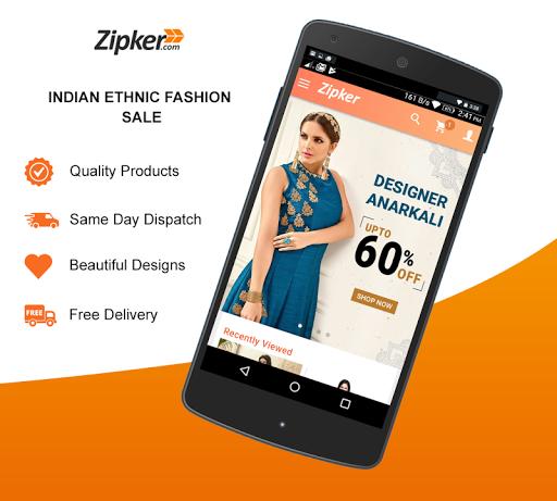 Zipker Women's Online Shopping  screenshots 1