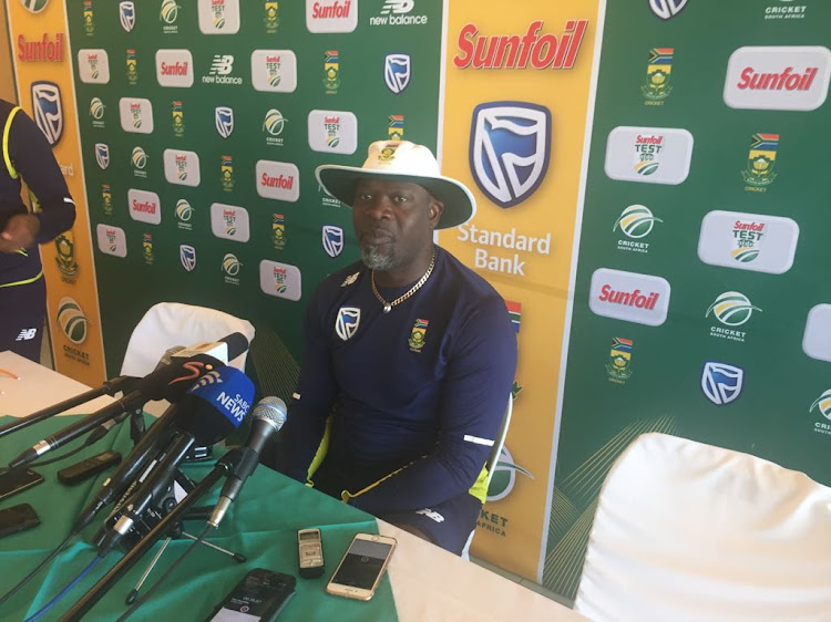 South Africa coach Ottis Gibson.