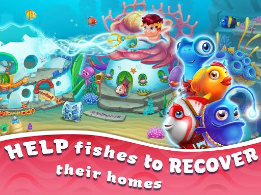 Seascapes : Trito's Match 3 Adventure 2.6 screenshots 17