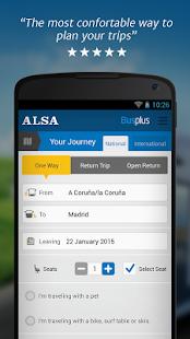 ALSA: buy your bus tickets - screenshot thumbnail