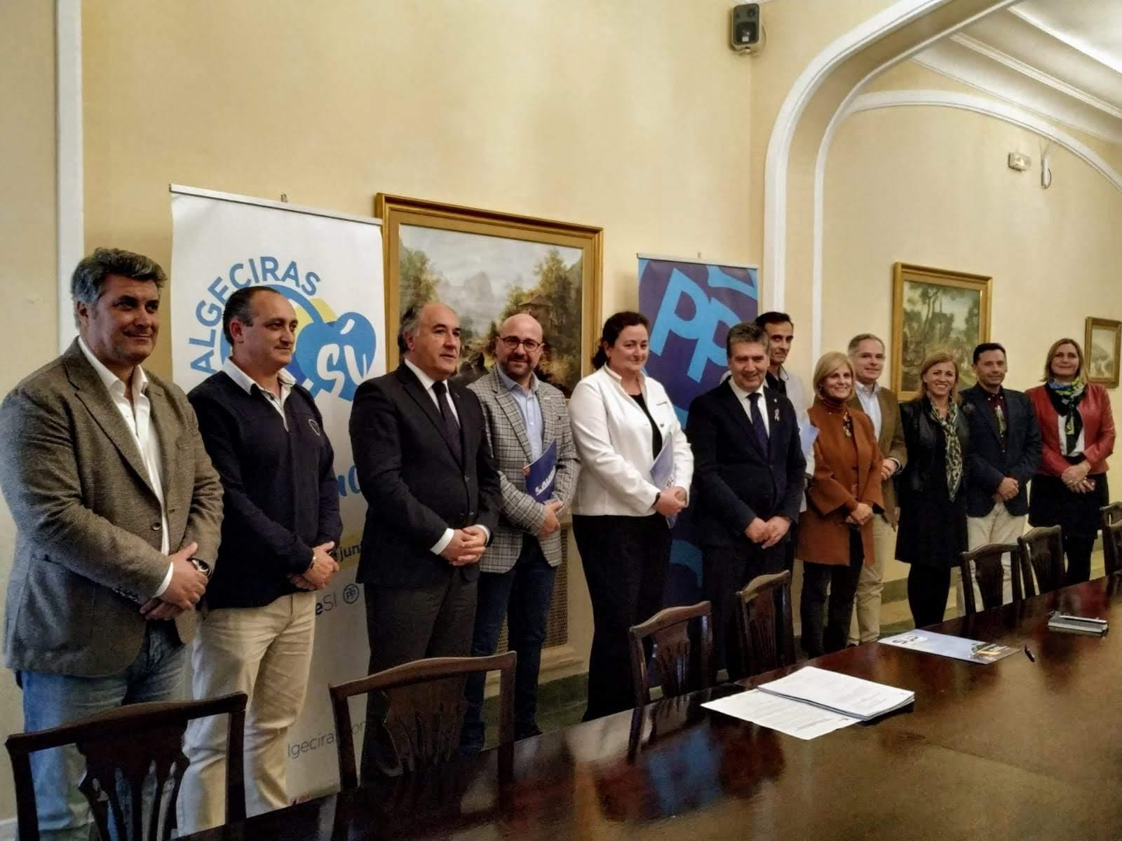 El PP de Algeciras y Cosidó muestran su apoyo a las Fuerzas y Cuerpos de Seguridad del Estado