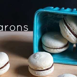 French Meringue Macarons.