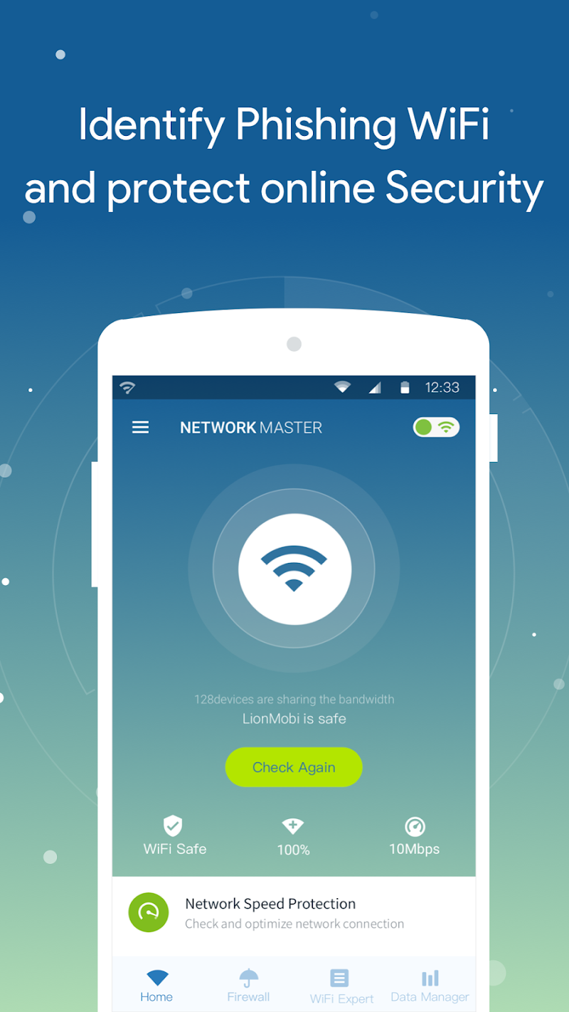Network Master - Speed Test Screenshot 0