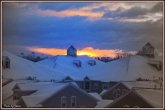Photo: A Morning Sunrise in Clifton NJ