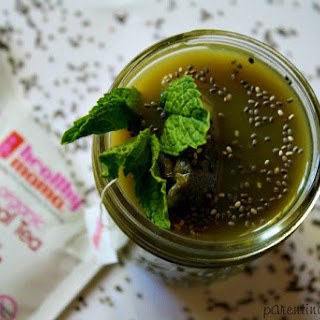 Green Lactation Smoothie.