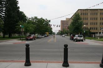 Photo: Die Hauptstrasse von Cheyenne um 17:15