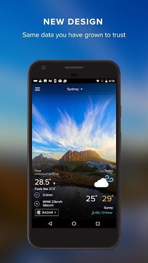 Weatherzone screenshot 1