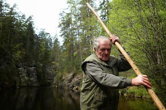 Photo: Převozník na Adršpašském jezeře
