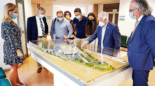 Así será el hospital de Roquetas: 56 camas y seis quirófanos