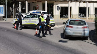 Control de la Policía Local de El Ejido en una imagen de archivo.