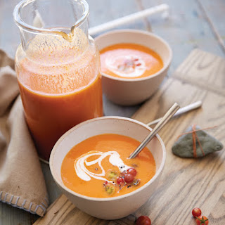 Chilled Heirloom Tomato Soup