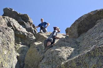 Photo: posledné lezecké výkony a sme na vrchole