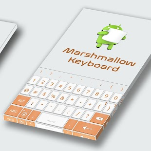 Keyboard For Marshmallow - náhled