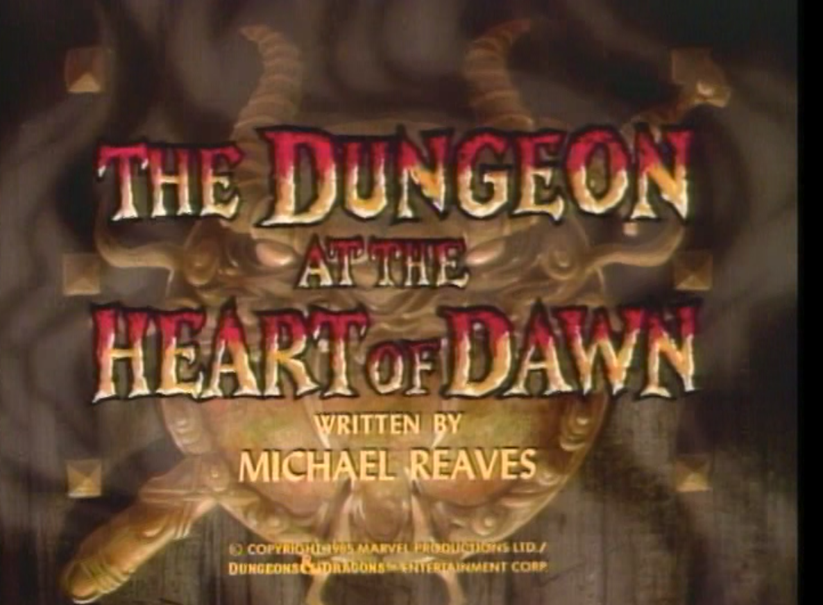 The Dungeon at the Heart of Dawn title card