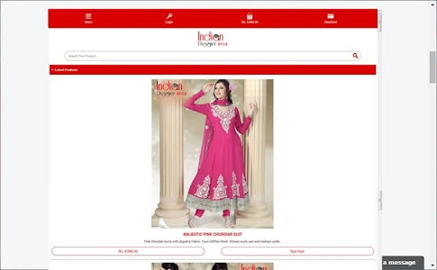 Indian Designer Wear screenshot 7