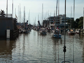 Photo: Headed out to the start of the Port Huron to Mackinac Island Race