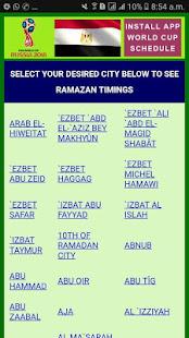 Download Ramazan Calendar 2018 Egypt For PC Windows and Mac apk screenshot 1