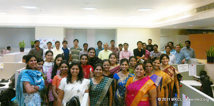 "Photo: MKCL Pune family during ""Shastra Puja"" - Khandenavami. October 05, 2011"
