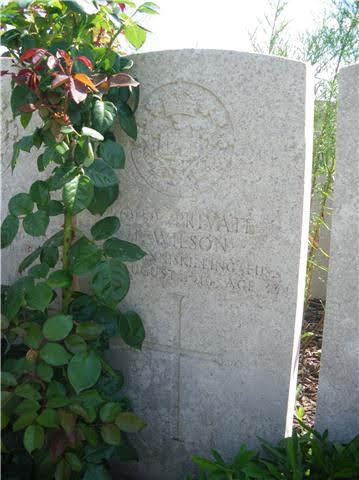 James Wilson grave