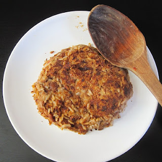 Peruvian Refried Beans and Rice