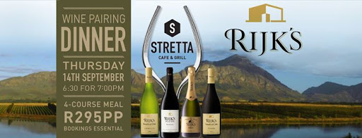 Rijk's Wine Pairing Dinner at Stretta : Stretta Cafe