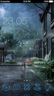 Rain Theme nature: rainy day beautiful wallpaper - náhled