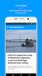 The Detroit News- screenshot thumbnail