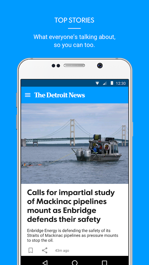 The Detroit News- screenshot