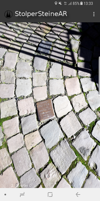 StolperSteineAR Cologne- screenshot