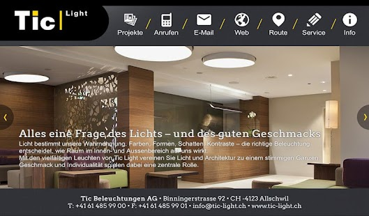 Tic Beleuchtungen AG - Izinhlelo ze-Android ku-Google Play