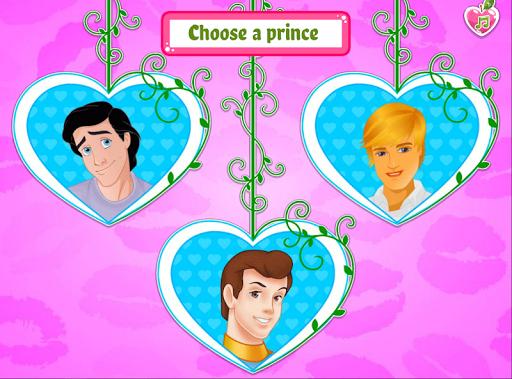 the princess needs to choose from three boys screenshot 1
