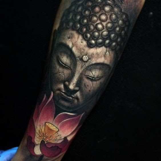 3d65d88a098fd 50 Brilliant Buddha Tattoos And Ideas With Meaning