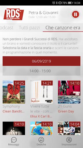 RDS 100% Grandi Successi screenshot 5
