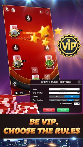 Svara - 3 Card Poker Online Card Game 1.0.11 screenshots 4