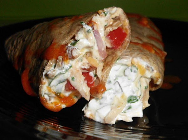 Chicken And Vegetable Wrap Recipe