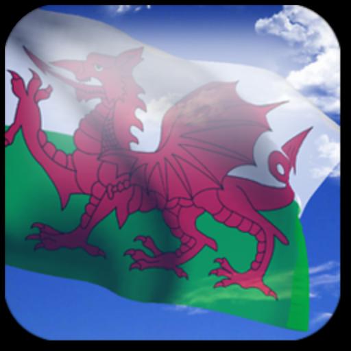 3D Welsh Flag (app)