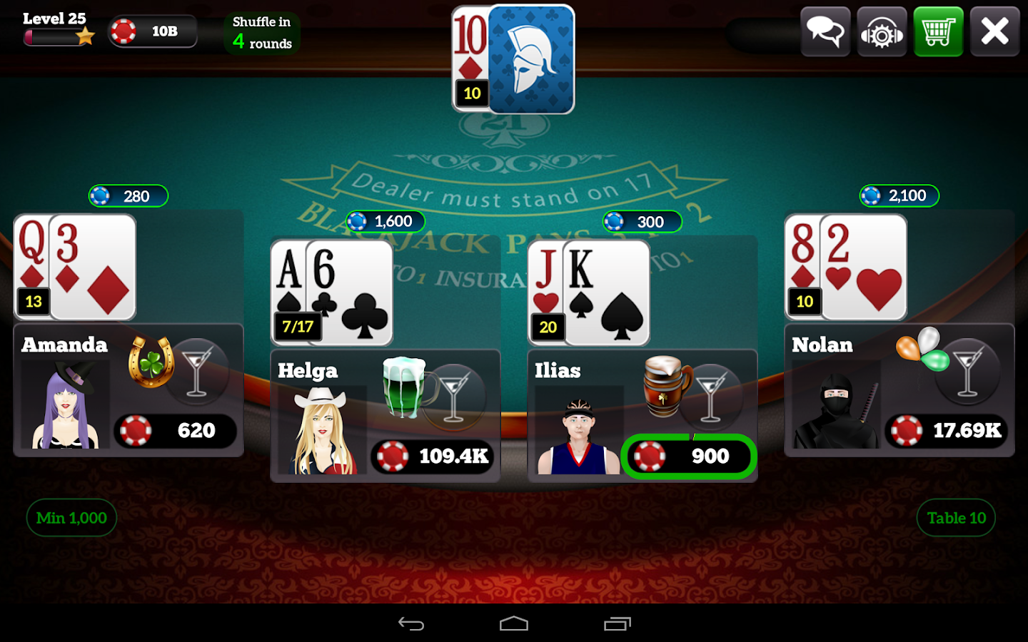 BlackJack 21 Pro- screenshot