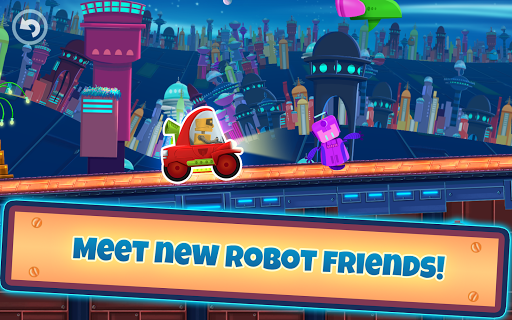 Cute Robotic Racing - Future cars
