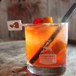 Cabernet Bourbon Old Fashioned