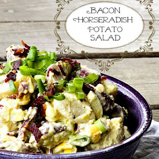 Bacon Horseradish Potato Salad