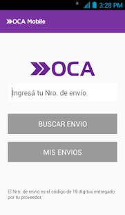 OCA Mobile- screenshot thumbnail