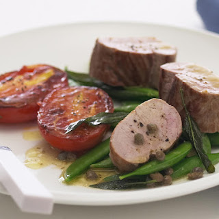Pork Tenderloin with Crispy Sage and Capers
