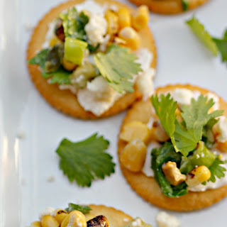 Mexican Corn & Green Chile Dip.