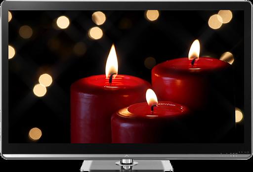 Romantic Candles Chromecast