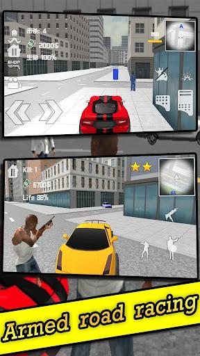 Lone Gunner-vegas grand gangster crime gun battle 1.0.2 screenshots 1