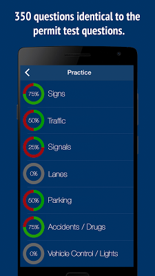 New York DMV Permit Test - NY - screenshot