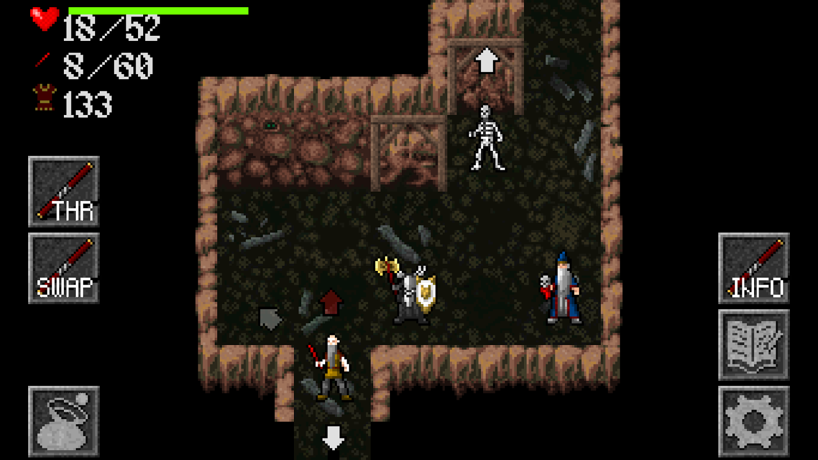 Ananias Mobile Roguelike- screenshot