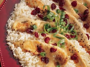 Chicken Tenderloins With Cranberries Recipe