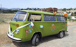 Volkswagen Kombi Microbus Rent Andalucía